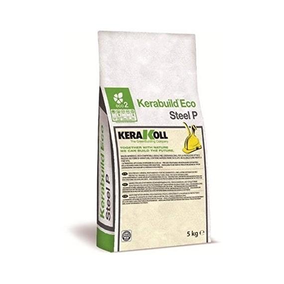 Malta minerale per protezione ferri Kerakoll Kerabuild Eco Steel P 5 kg 03852