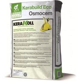 Rivestimento ad azione osmotica Kerakoll Kerabuild Eco Osmocem 25 kg 11373 bianco