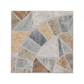 Pavimento Grès Porcellanato Per Esterni 34 x 34 Cm Ventaglio Pavé Marmo Mix