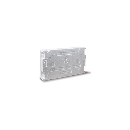Cassetta di scarico ad incasso pulsante alto 9 lt Pucci SARA 1315000001 + placca
