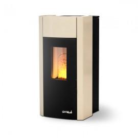 Dielle Scirocco Idro 18 SCIH18B03 beige Termostufa 18 kW a pellet/biomassa (PREZZO TRATTABILE)