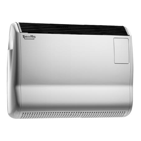 Radiatore a gas stufa convettiva 5000 W Fondital modello GAZELLE TECHNO CLASSIC GDIT501CL2 metano con orologio giornaliero