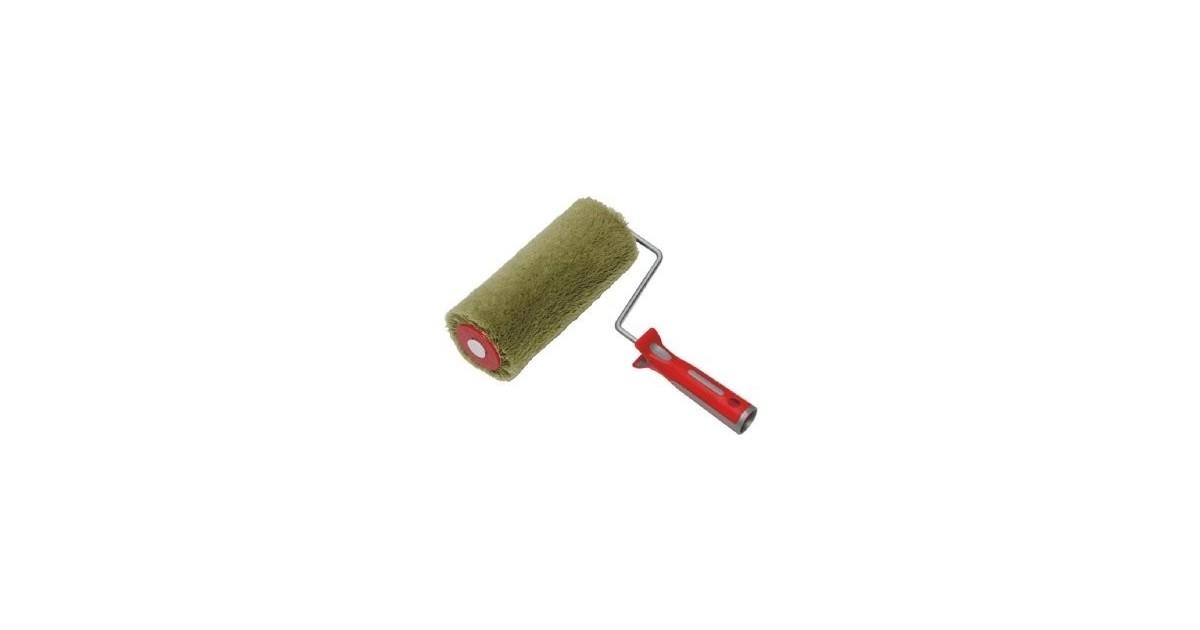 Rullo nylon cordonato poliammidico antisolvente per pittura Ø 48 mm x 25 cm verde scuro