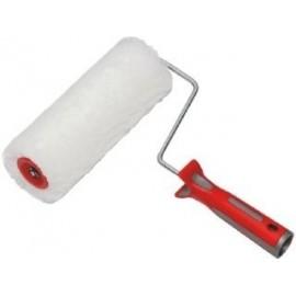 Rullo in tessuto poliestere antisolvente per pittura Ø 42 mm x 25 cm bianco