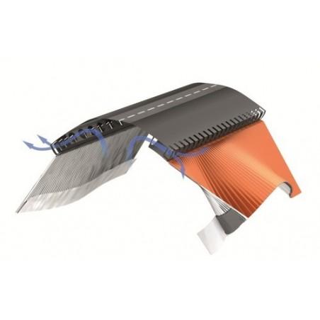 Sottocolmo impermeabile con alette in alluminio 5 mt Wierer Rapidroll 390
