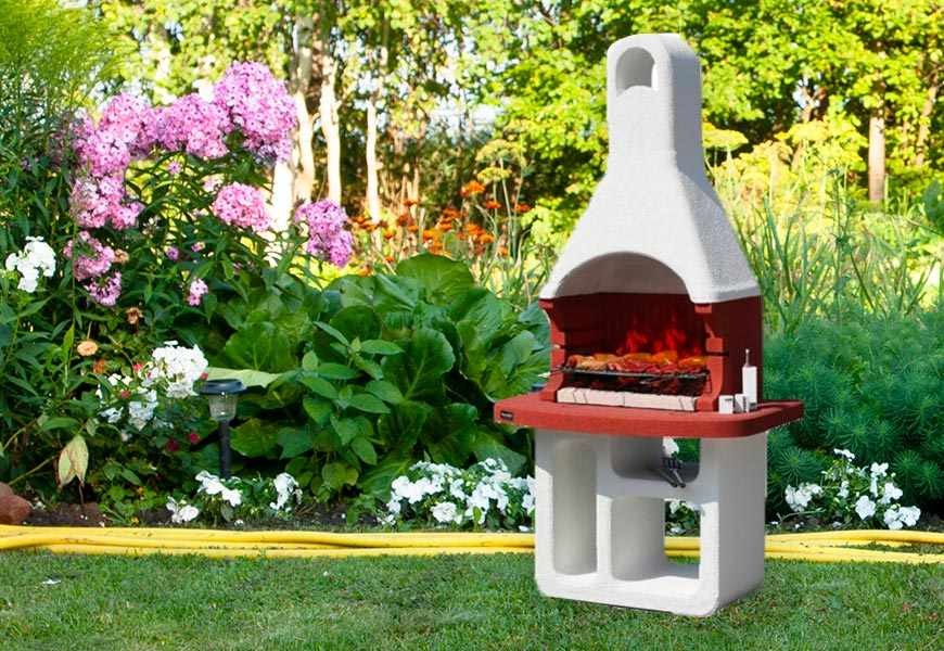 Come montare un barbecue in muratura da giardino